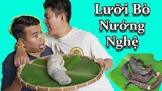 Black - Lưỡi Bò Nướng Nghệ // Vừa Dai Vừa Giòn Vừa Ngon