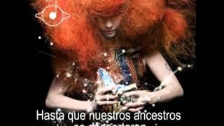 Bjork - Cosmogony ( subtitulos español )