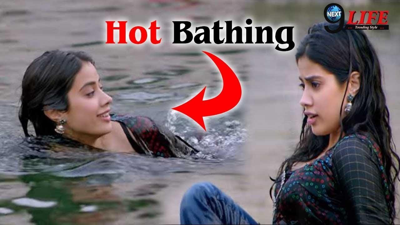 Dhadak Movie Hot Bath Scene Latest Dhadak Full Movie Trailer Youtube