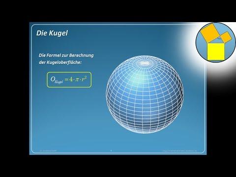 kugel - oberfläche - geometrie - rueff - youtube