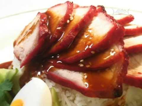สูตรอาหารไทย: ข้าวหมูแดง โดย Lobo (www.lobo.co.th)