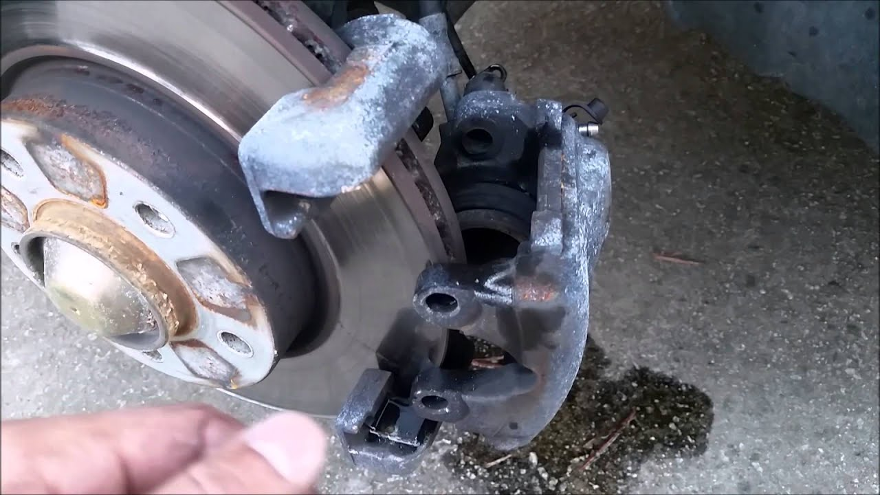 Bmw 2005 Z4 Brake Replacement Youtube