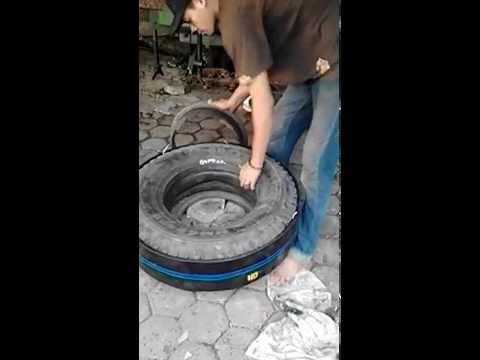 Cara Membuat ban Mobil Bekas Jadi baru