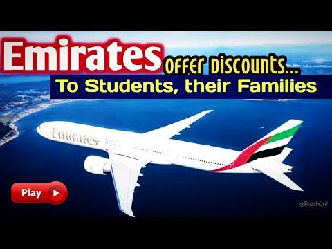 ✅Emirates Offers Discounts on Fares to Students, their Families..| #emirates | #Visitdubai #aviation