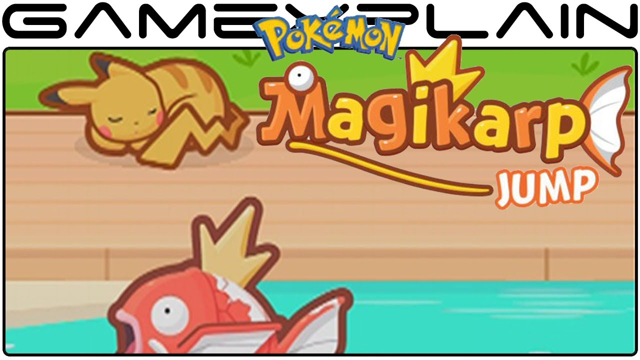 e5137bce Pokémon: Magikarp Jump - Game & Watch (Video Preview) - YouTube
