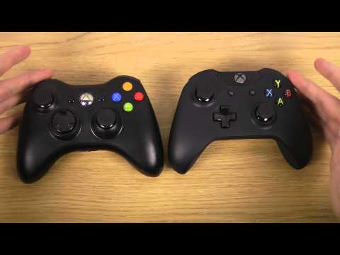 Xbox 360 Controller vs. Xbox One Controller - Comparison Review