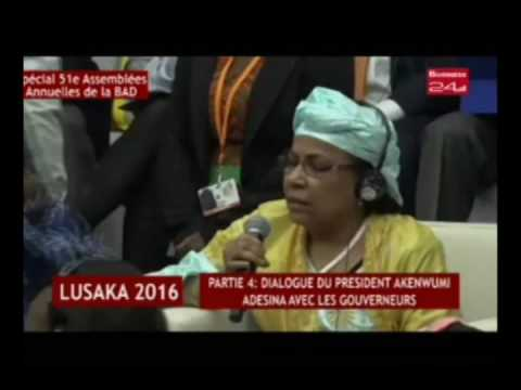 Business 24 / Lusaka 201- Partie 4 : Dialogue du président Akenwumi Adesina avec les gouverneurs