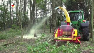 RABAUD  Wood chipper / shredder : XYLOCHIP 200 T