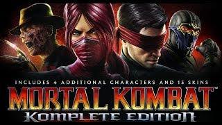Mortal Kombat Komplete Edition с Драгуновым!