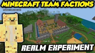 I Ran A Social Experiment... On The OFFICIAL Minecraft Realm