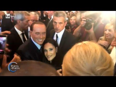 La dieta di Silvio Berlusconi - Porta a Porta 21/09/2017