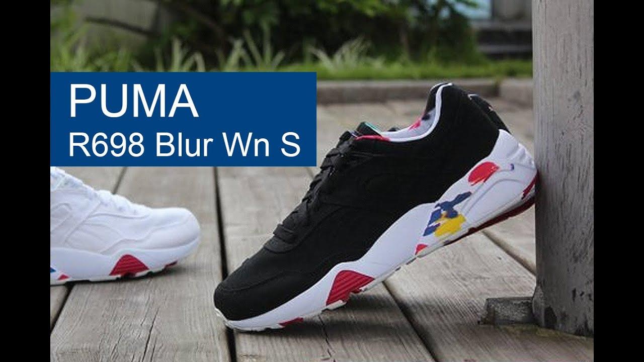 cde4ab7e797 Puma R698 Blur Wn S обзор - YouTube
