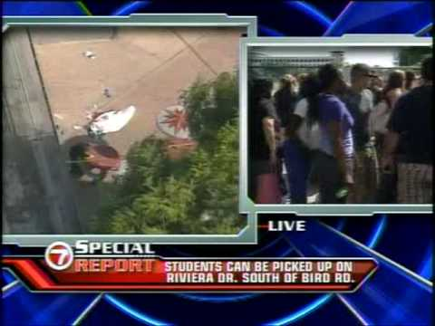 Student Stabbed at Coral Gables High School,Miami Florida