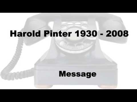 Harold Pinter - Message