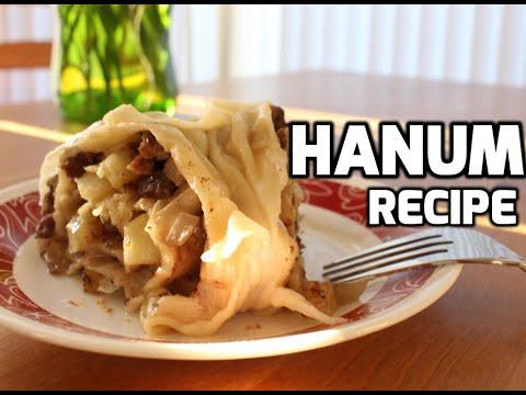 Uzbek Hanum (Steamed Meat Roulette, Khanum, Ханум) Video Recipe
