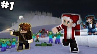 ЗОМБИ АПОКАЛИПСИС ЗИМОЙ? - НОВОГОДНИЕ ПРИКЛЮЧЕНИЯ #1 [Minecraft]