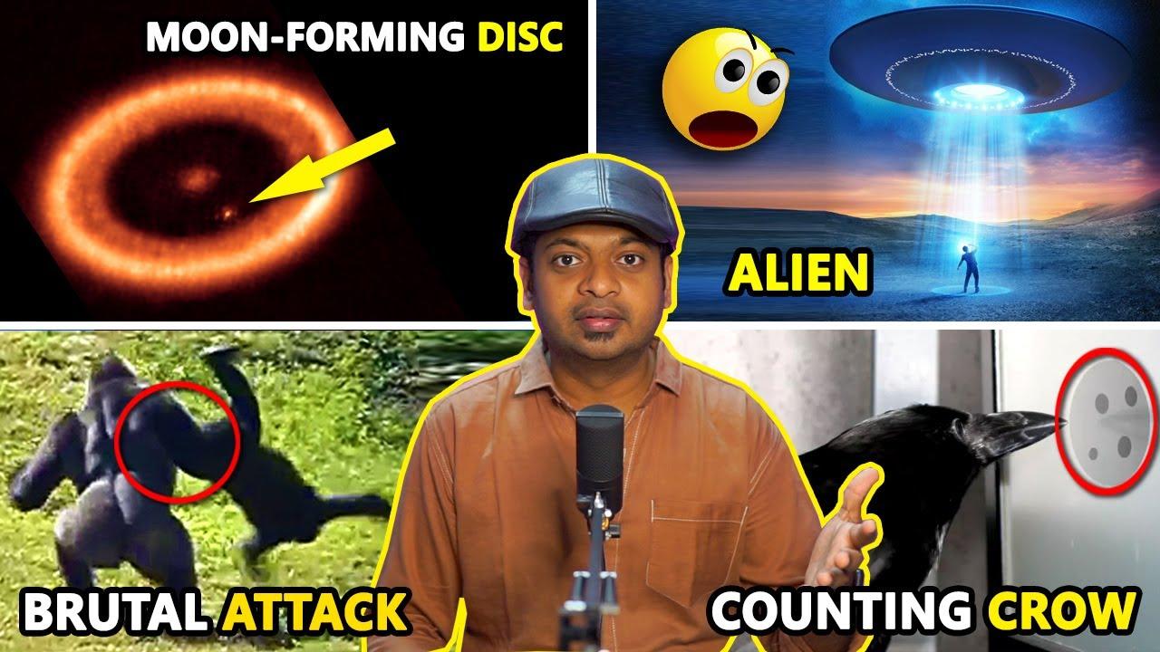 Moon-forming disk, Alien abduction, 15,000-year-old viruses | Weekly Science News in Tamil | Mr.GK