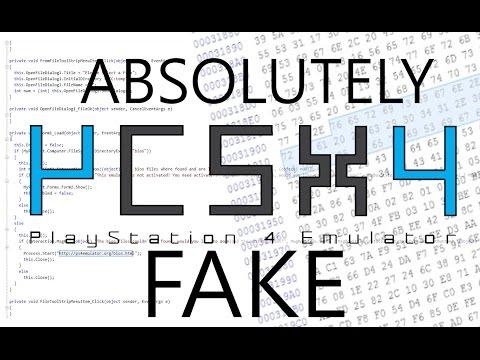 Debunking Fake PS4 Emulators