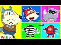 Wolfoo and Funny Stories for Kids About Kids Costumes | Wolfoo Family Kids Cartoon