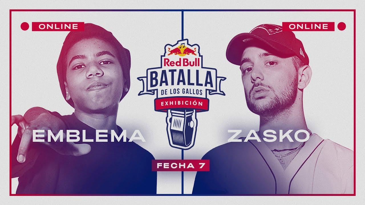 EMBLEMA vs ZASKO MASTER | Semifinal | FECHA 7 | Red Bull Exhibición 2020