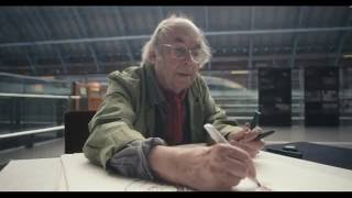 Quentin Blake visits St Pancras International