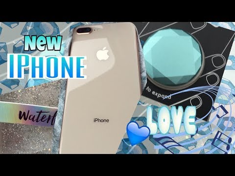 New IPHONE 8 Plus in gold | IPHONE Case Haul and POPSOCKET Haul