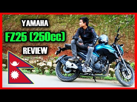 YAMAHA FZ25 250CC FIRST RIDE | REVIEW IN NEPAL
