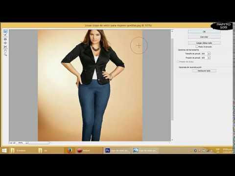 Como adelgazar cachetes en photoshop cs6