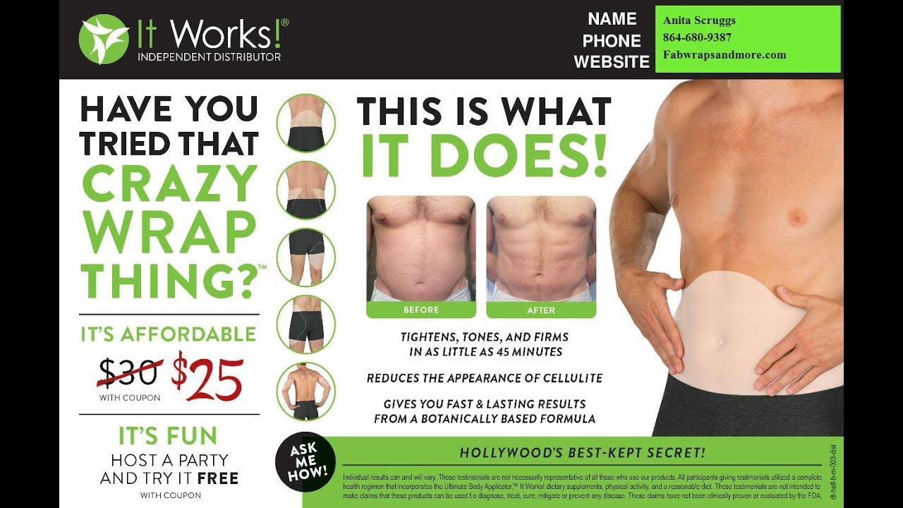 Men in Wraps