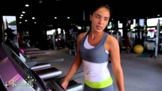 Adelina Pestritu - antrenament la sala