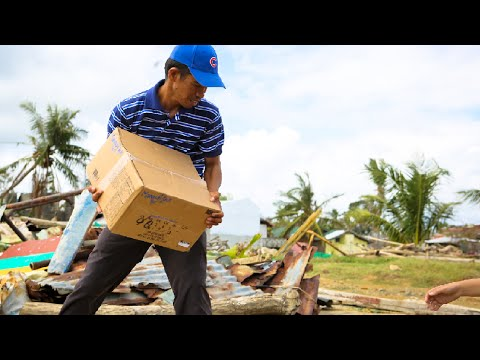 Food at Work: Rebuilding Life In The Philippines