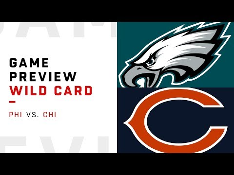Philadelphia Eagles vs. Chicago Bears | Wild Card Weekend Game Preview | Move the Sticks