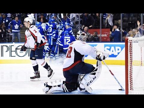 Bozak tips in OT winner, Leafs top Capitals to take series lead