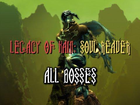 Legacy of Kain - Soul Reaver I | All Bosses