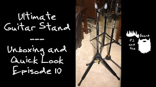 Ultimate GS1000 Guitar Stand - Unboxing and Quick Look Episode 10