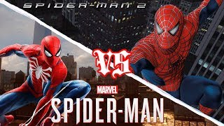 Marvel's Spider-Man VS Spider-Man 2 REVIEW/COMPARISON