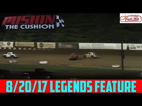 Angell Park Speedway - 8/20/17 - Legends - Feature