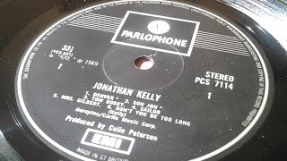 Jonathan Kelly (Side 2) – Incredibly Rare 1970 UK Parlophone Debut Folk LP £250