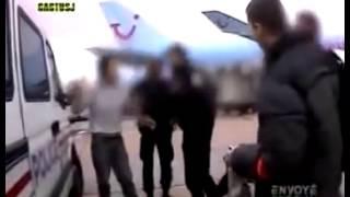 Expulsion ratée d'un Algérien فشل عملية طرد جزائري