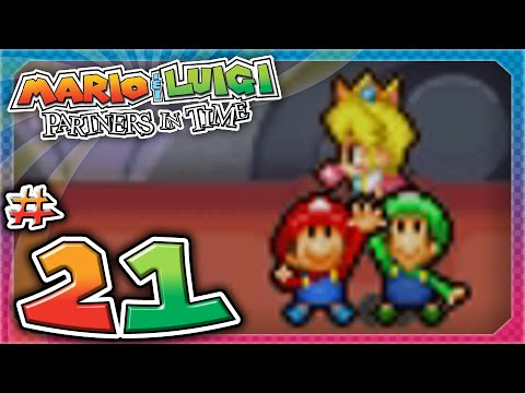 Mario and Luigi: Partners In Time - Part 21: OMG PRINCESS PEACH!