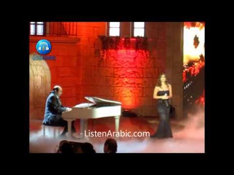 Hiba Tawaji & Osama Rahbani in Woujouh Men Loubnan 2013 اسامة الرحباني وهبة طوجي لا بداية ولا نهاية