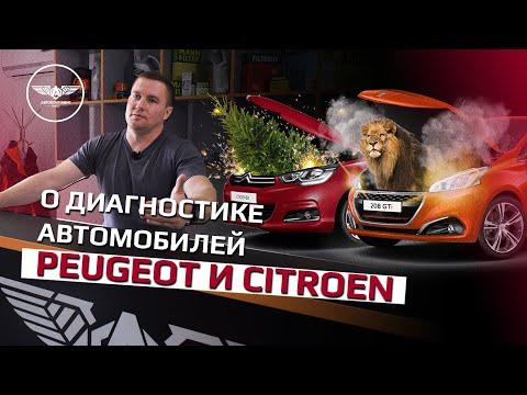 О диагностике автомобилей Peugeot и Citroen