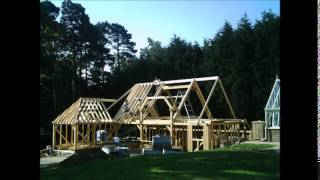 Oak Framed Building - Garden Complex Timelapse Video