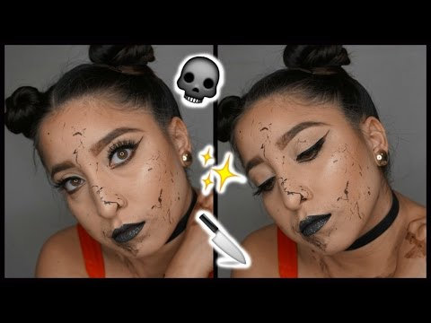 The Purge Halloween Makeup Tutorial FAST \u0026 EASY!