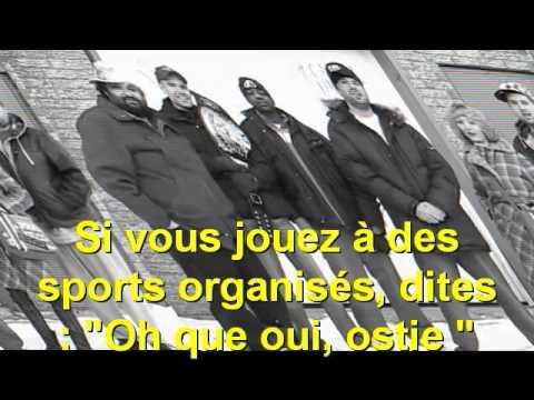 Everyday Normal Crew (Jon Lajoie) + Lyrics in FRENCH