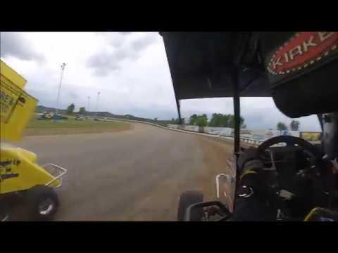 6/25/16 125/250 Thunder hill speedway heat 1