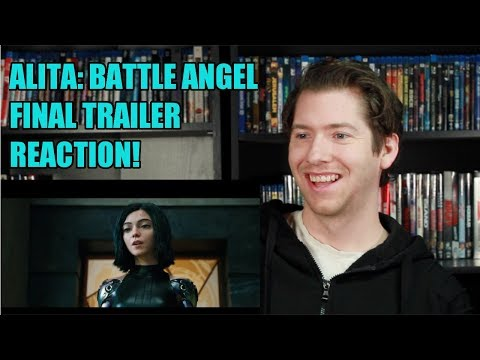 Alita Battle Angel Official Trailer 3 Reaction