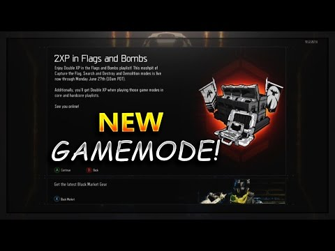 """NEW GAME MODE""""Flags & Bombs""""In Black Ops 3-Demolition, Search & Destroy & Capture the Flag In One!"""