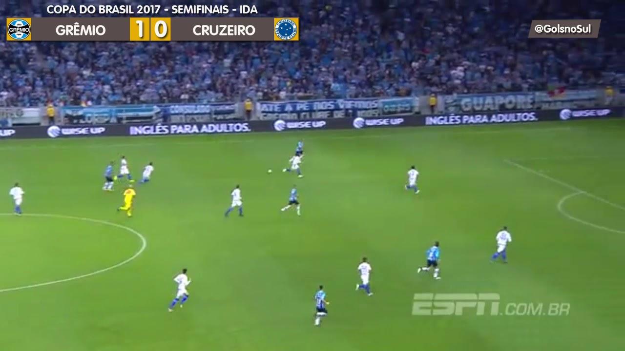 Grêmio 1 x 0 Cruzeiro - Rádio Grenal - YouTube 4eb56f87a9414