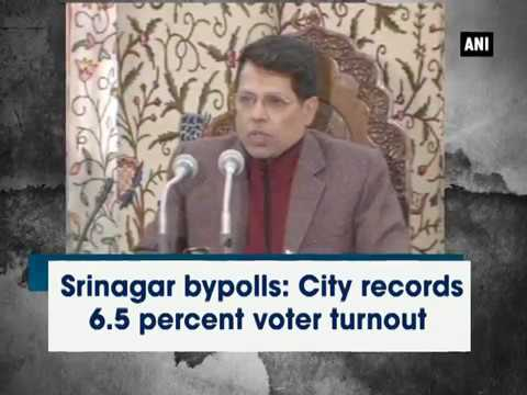 Kashmir News (April 09, 2017) - Srinagar bypolls: City records 6.5 percent voter turnout